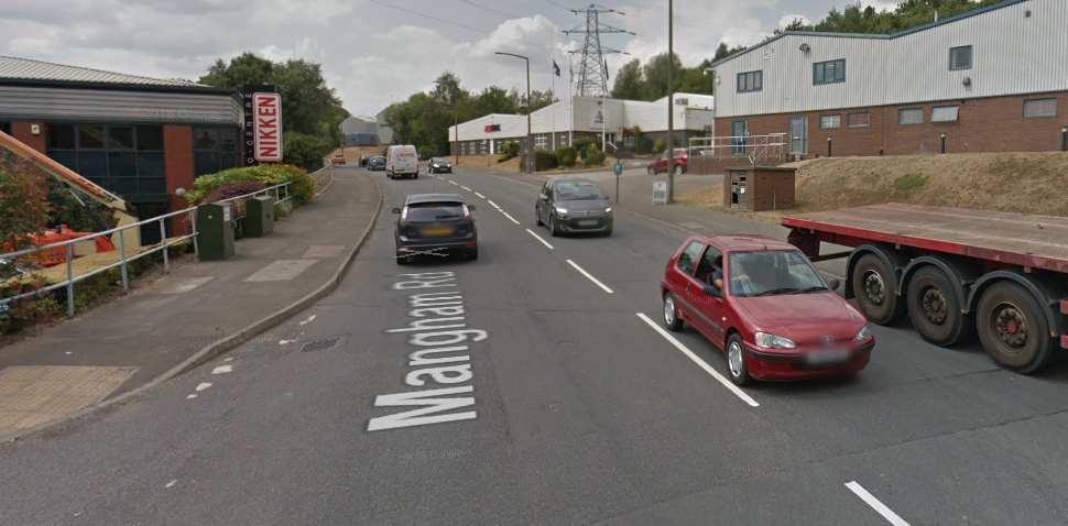 Rotherham Google Streetview Image Mangham Road