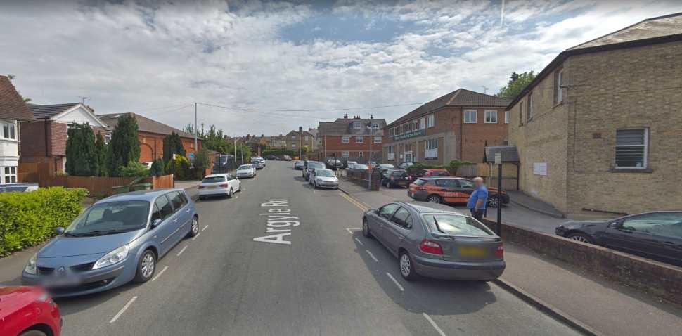 Sevenoaks Google Streetview Image Argyle Road