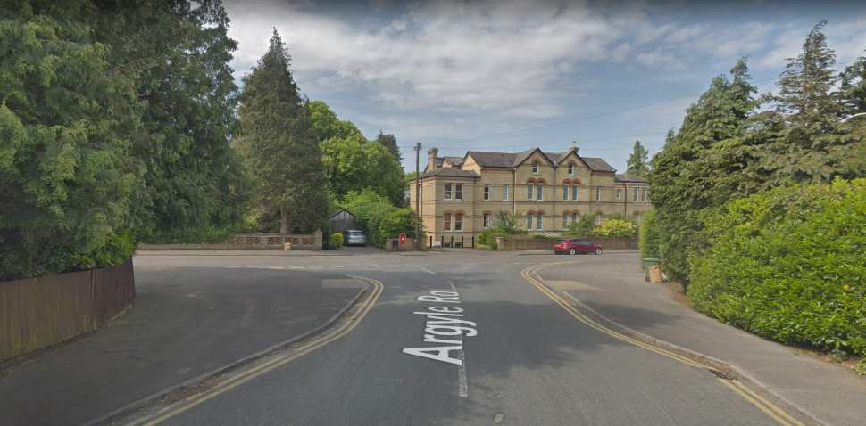 Sevenoaks Google Streetview Image Junction