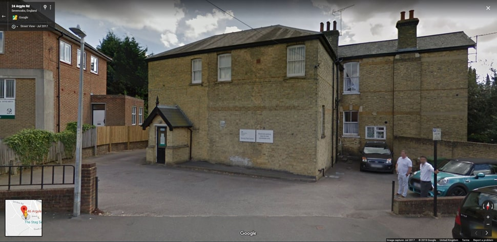 Sevenoaks Google Streetview Main Image