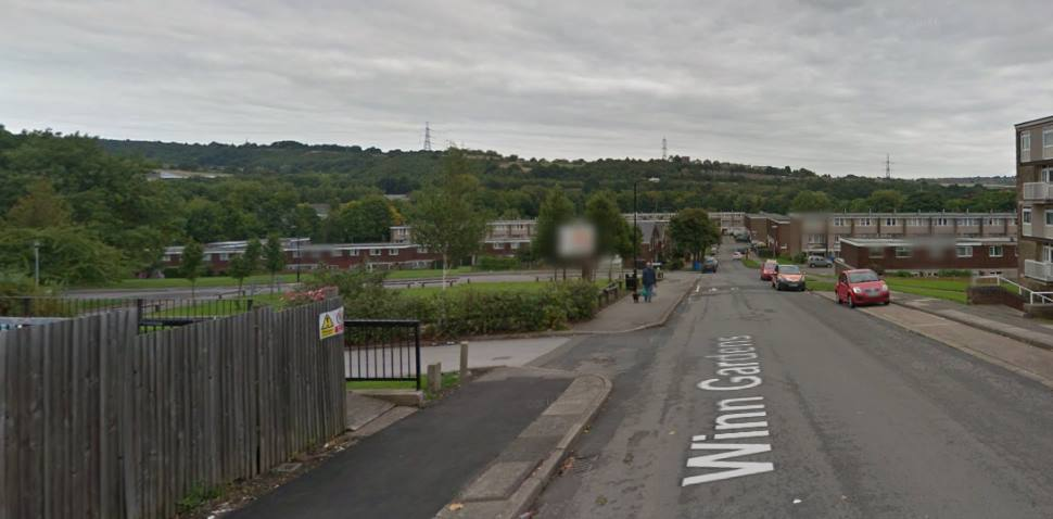 Sheffield (Middlewood Road) Google Streetview Image Leading Road