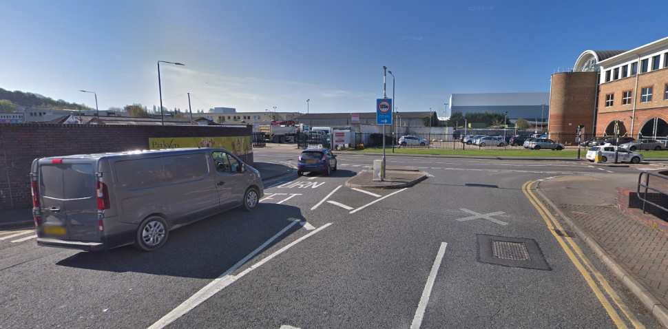 Sidcup Google Streetview Image Junction