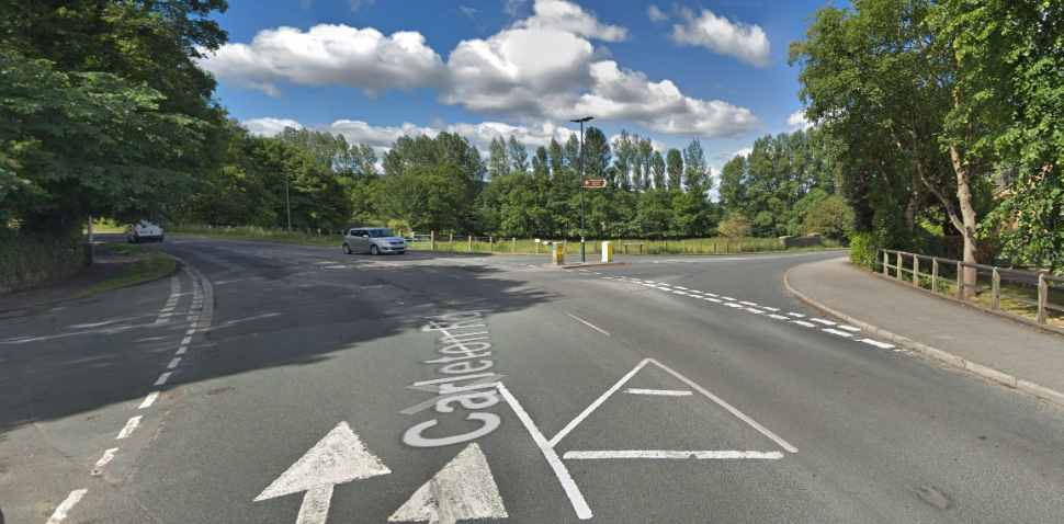Skipton Google Streetview Image Junction