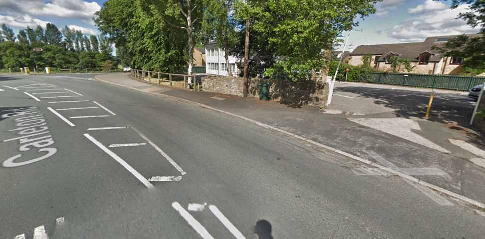 Skipton Google Streetview Image Leading Road
