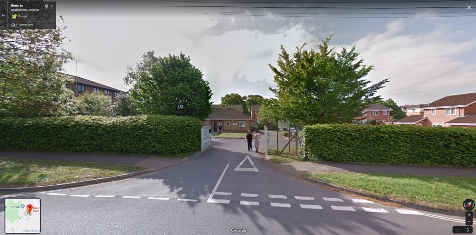 Streetview Image #1 for Southampton (Maybush) Test Centre