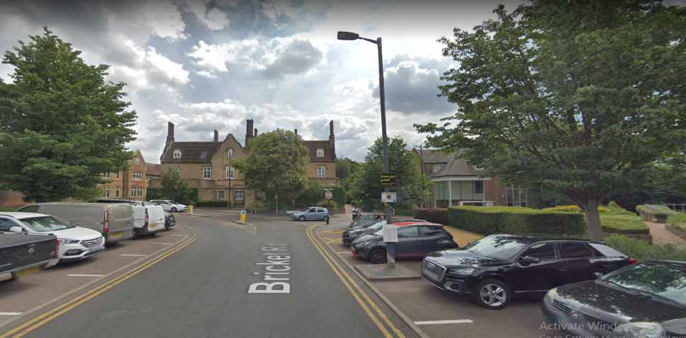 St Albans Google Streetview Image Bricket Road End