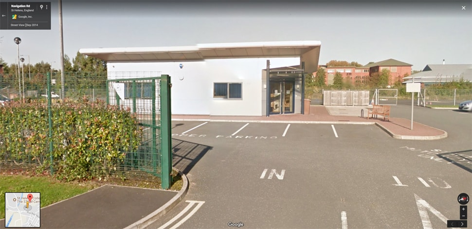 Streetview Image for st helens Test Centre