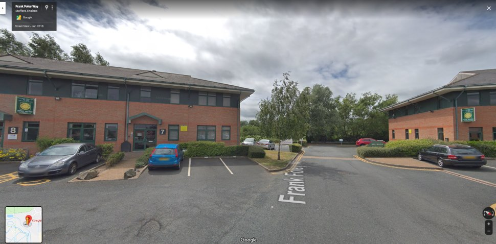 Stafford Google Streetview Main Image