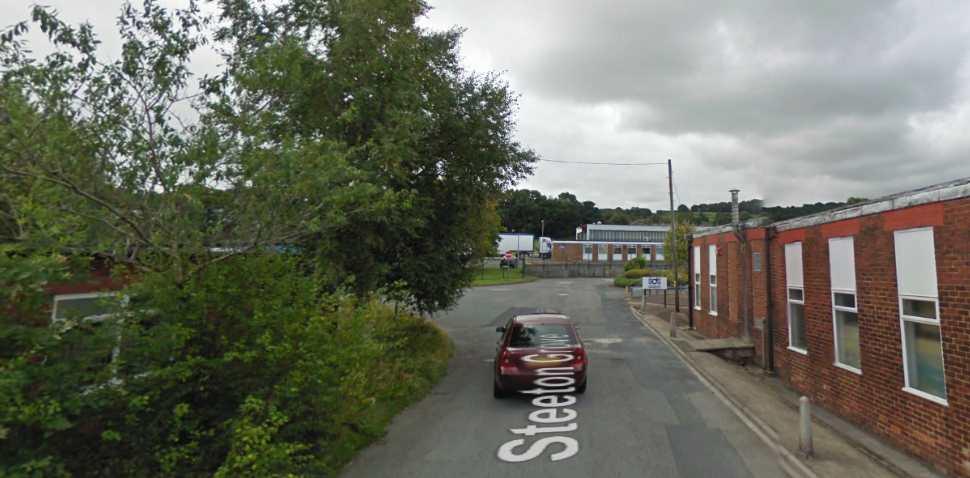 Steeton Google Streetview Image Leading Road