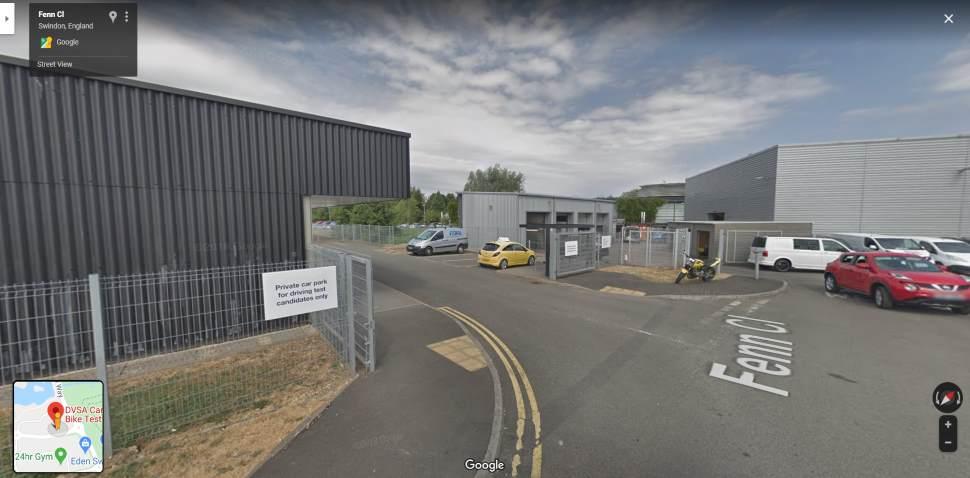 Streetview Image #1 for Swindon Test Centre