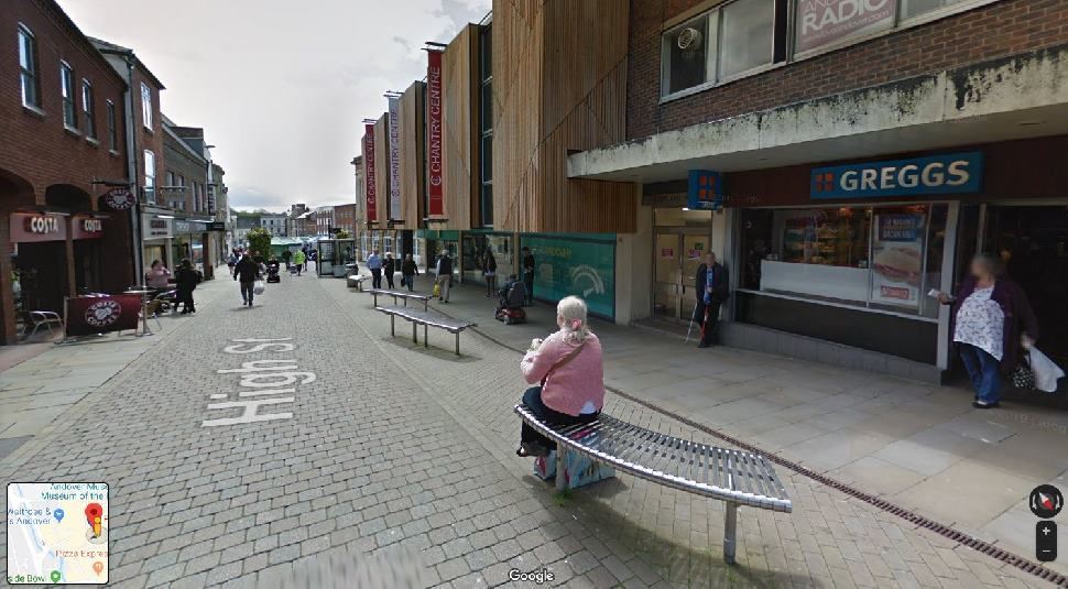 Streetview Image for Andover Test Centre