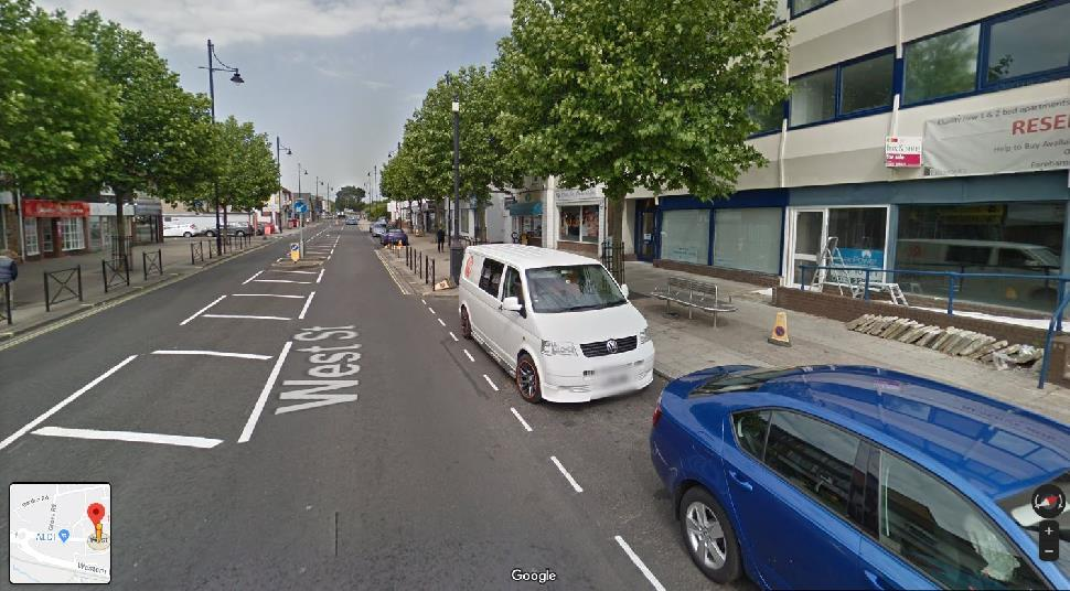 Streetview Image for Fareham Test Centre