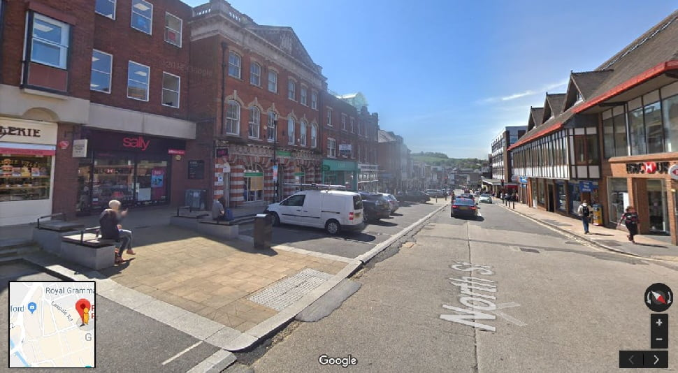 Streetview Image for Guildford Test Centre