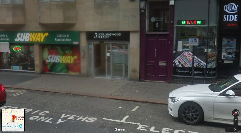 Streetview Image for Newcastle Upon Tyne Test Centre