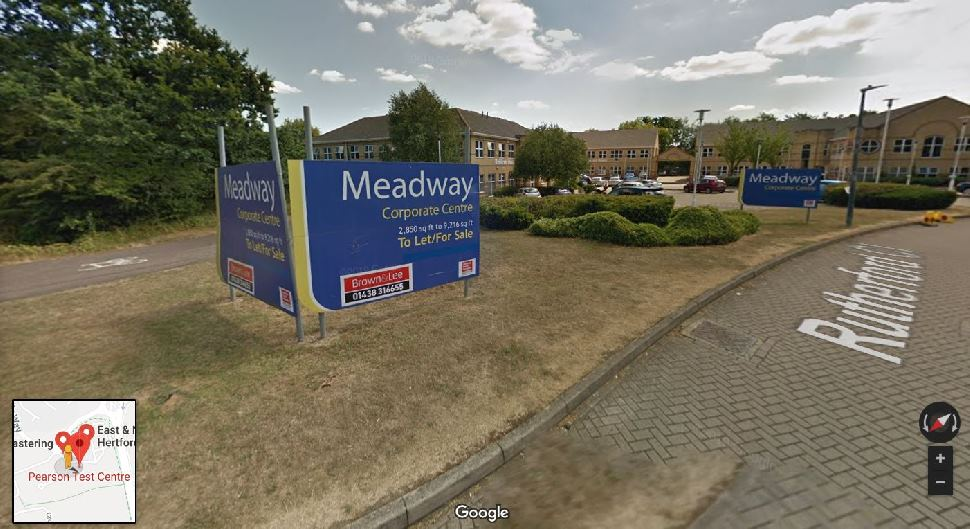Streetview Image for Stevenage Test Centre