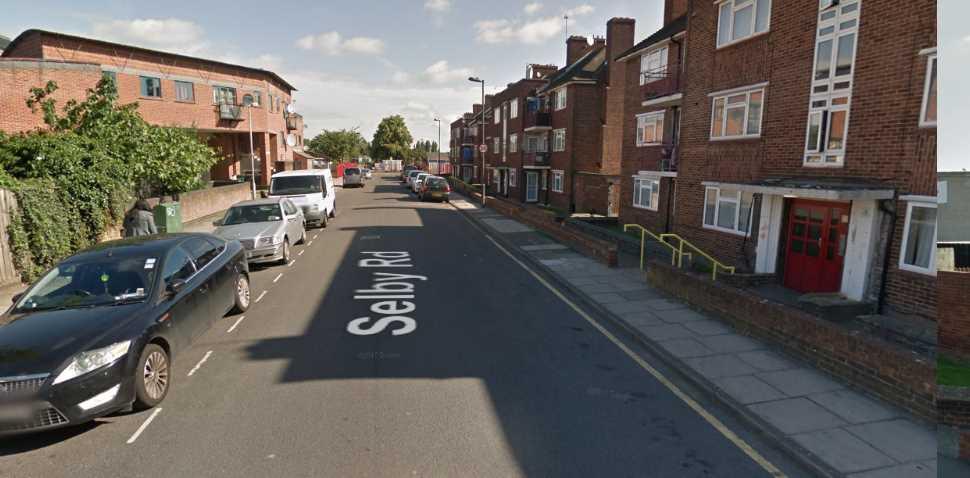 Tottenham Google Streetview Image Selby Road