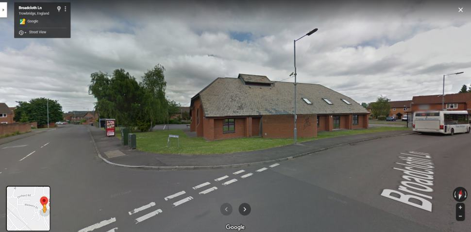 Streetview Image #1 for Trowbridge Test Centre