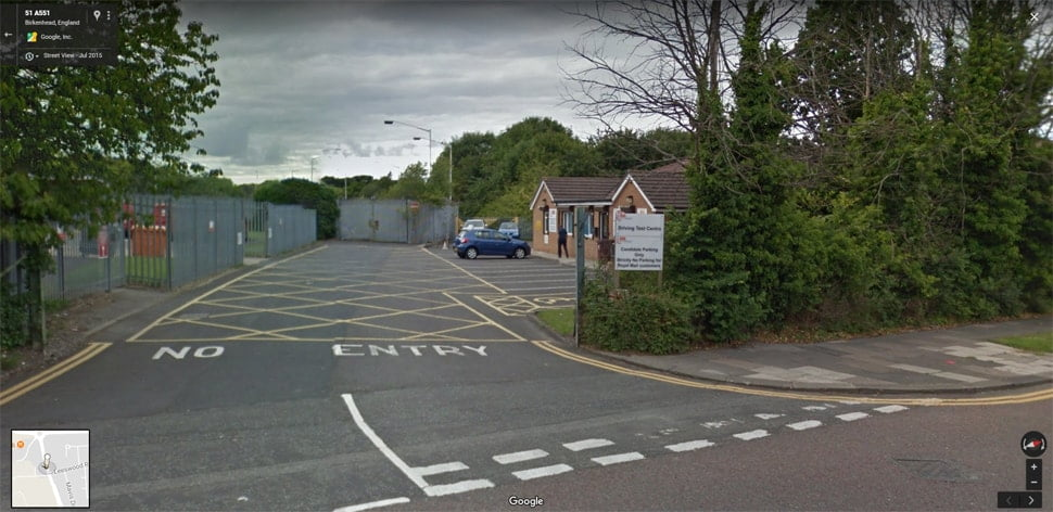 Streetview Image for upton Test Centre