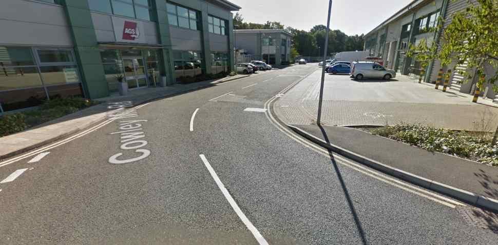 Uxbridge Google Streetview Image Cowley Mill Road