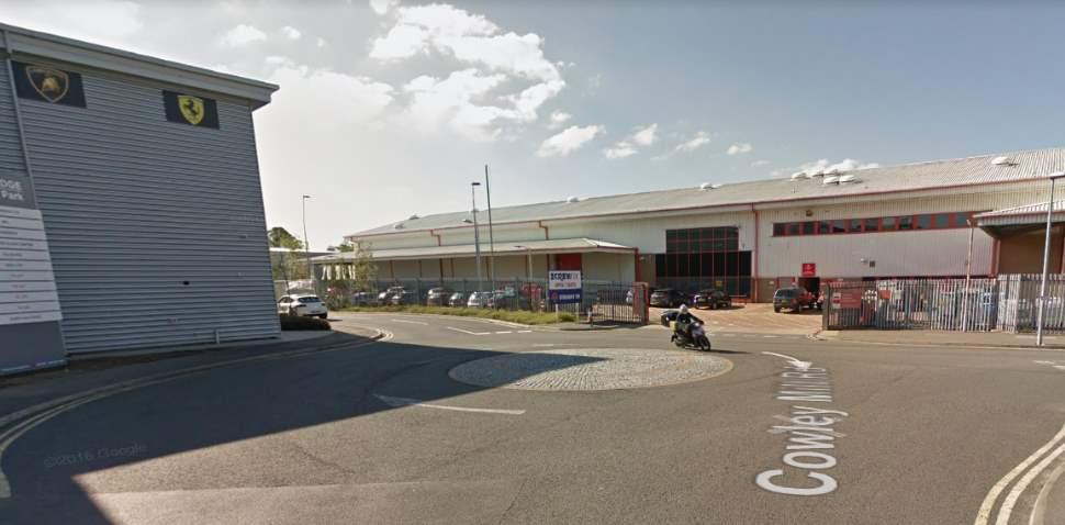 Uxbridge Google Streetview Image Roundabout