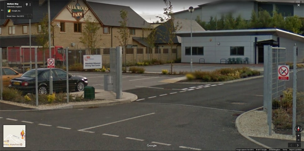 Streetview Image for Wakefield Test Centre