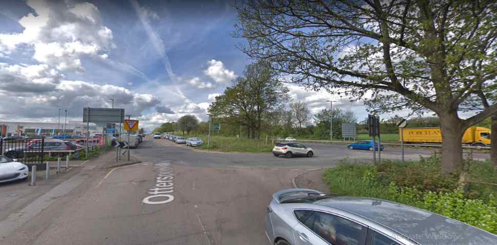 Watford Google Streetview Image Junction