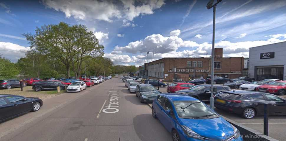 Watford Google Streetview Image Otterspool Way