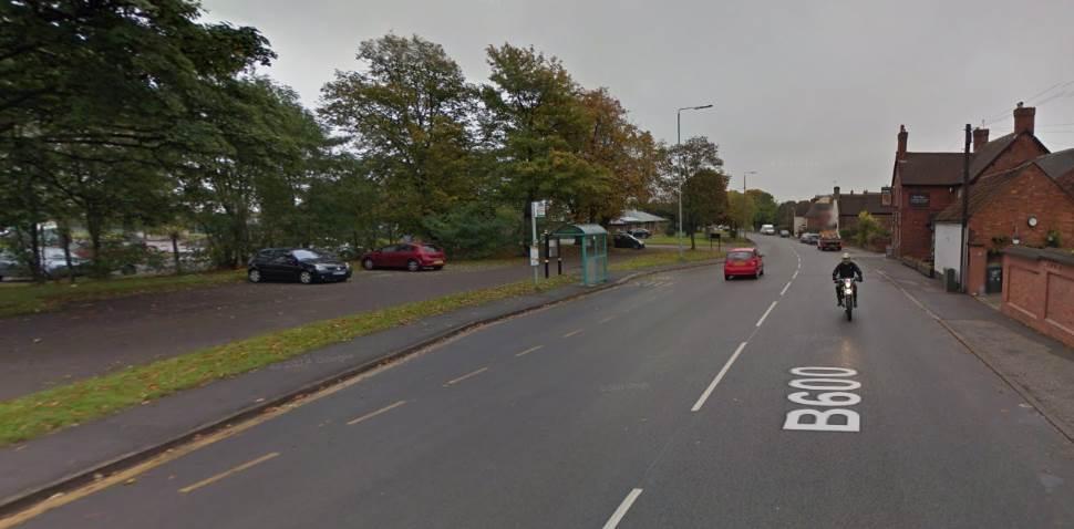 Watnall Google Streetview Image Main Road