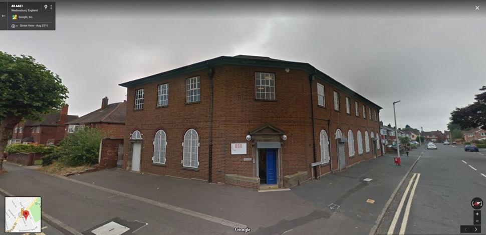 Wednesbury Google Streetview Main Image