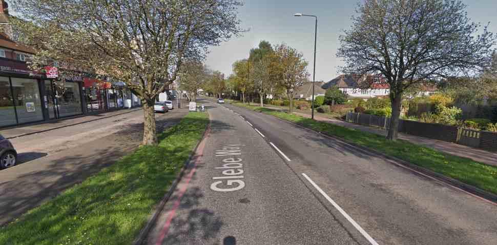 West Wickham Google Streetview Image Glebe Way