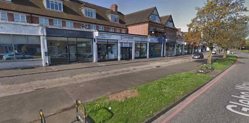 West Wickham Google Streetview Image Parking