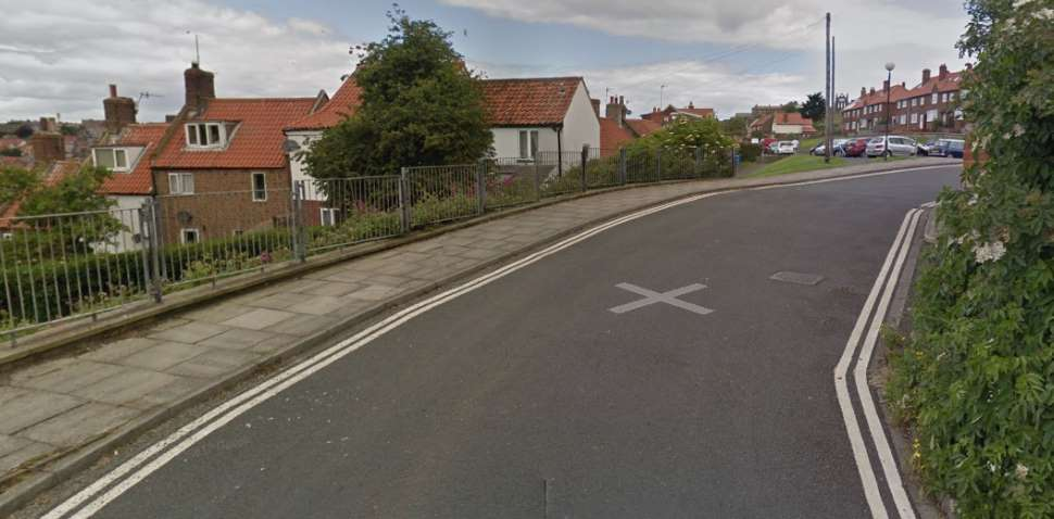 Whitby Google Streetview Image Leading Road