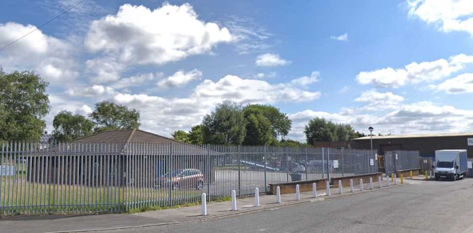 Widnes Google Streetview Image Side Entrance