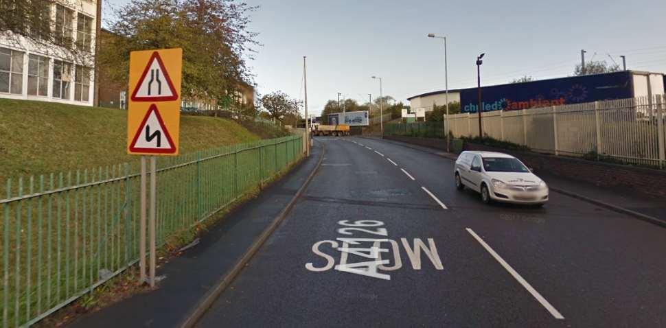 Wolverhampton Google Streetview Image A4126