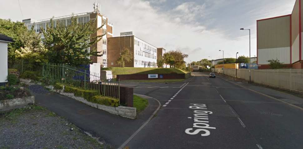 Wolverhampton Google Streetview Image Leading Road