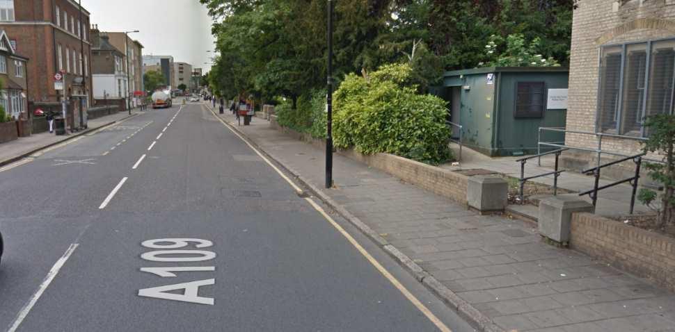 Wood Green Google Streetview Image A109