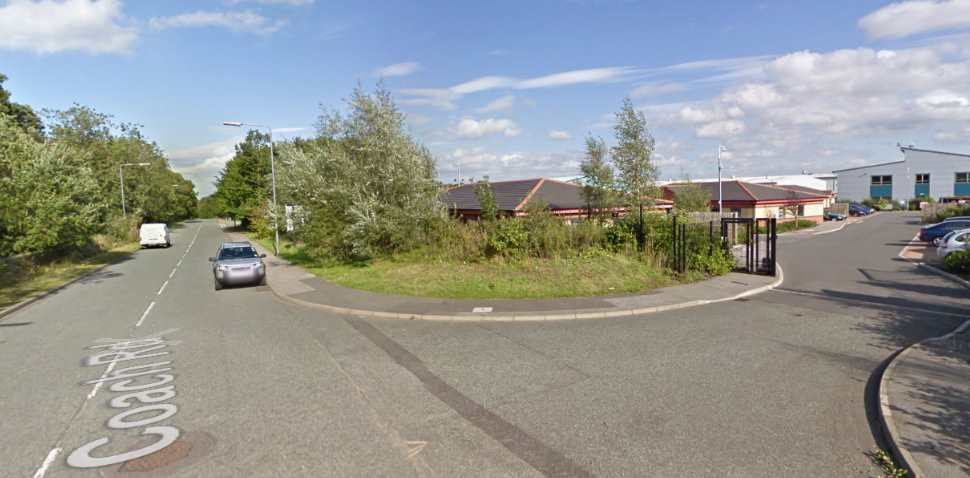 Worksop Google Streetview Image Coach Road