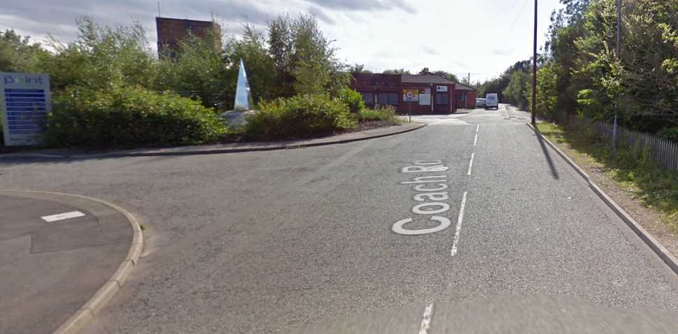 Worksop Google Streetview Image Leading Road