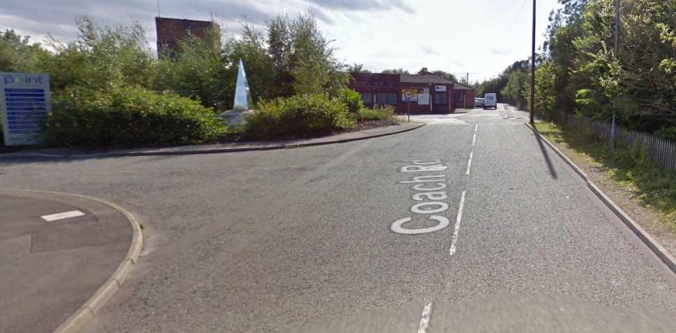 Worksop Google Streetview Image Leading Road