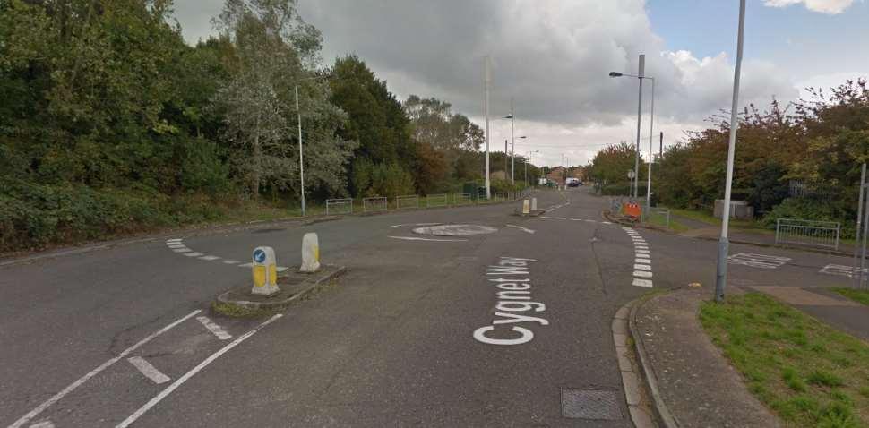 Yeading Google Streetview Image Roundabout