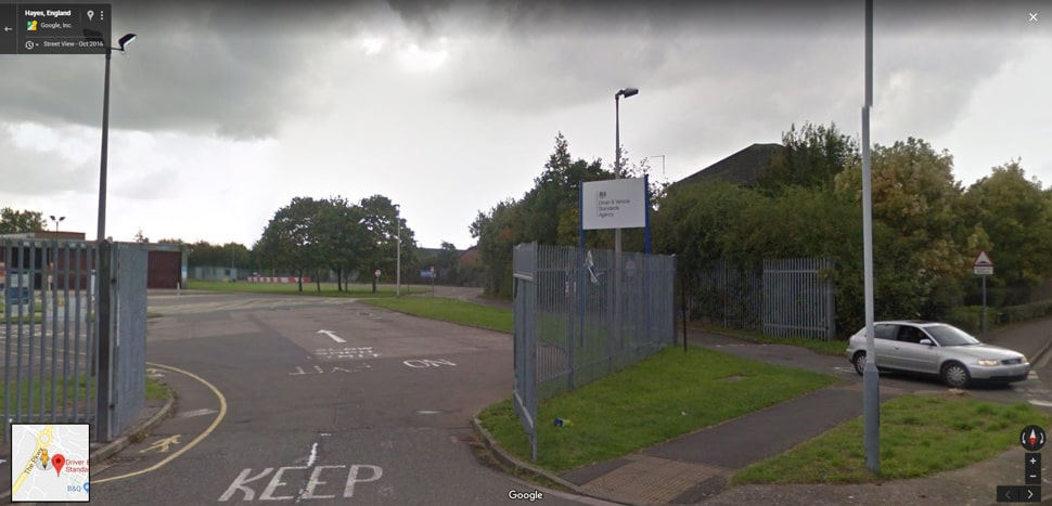 Streetview Image for Yeading (London) Test Centre