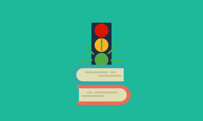 traffic-lights-and-books